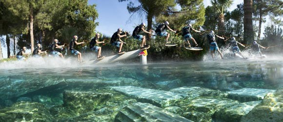 Red Bull | Brian Grubb wakeskates the Cleopatra Pool